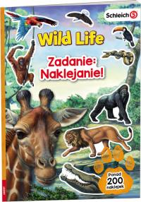 Schleich Wild Life Zadanie Naklejanie LASS-101 -  | mała okładka