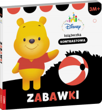 Disney maluch 3m+ Zabawki książeczka kontrastowa -  | mała okładka
