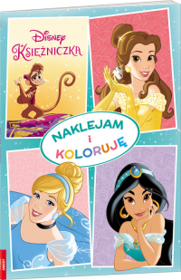 Disney Księżniczka Naklejam I Koloruję NAK-7 -  | mała okładka