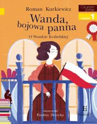 Czytam sobie Wanda bojowa panna poziom 1 - Roman Kurkiewicz | mała okładka