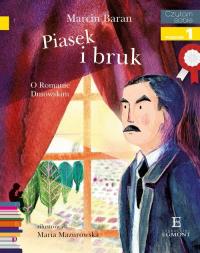 Czytam sobie Piasek i bruk poziom 1 - Marcin Baran | mała okładka
