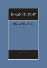 Korespondecja - Immanuel Kant | mała okładka