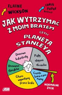 Jak wytrzymać z moim bratem czyli planeta Stanelya - Elaine Wickson | mała okładka