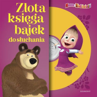 Masza i Niedźwiedź Złota księga bajek do słuchania -  | mała okładka