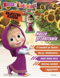 Masza i Niedźwiedź Masza przedstawia Bajeczna księga -  | mała okładka