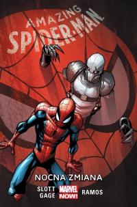 Amazing Spider-Man Tom 4 Nocna zmiana - Slott Dan, Gage Christos   mała okładka