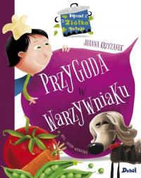 Ignaś Ziółko gotuje Przygoda w warzywniaku - Joanna Krzyżanek | mała okładka