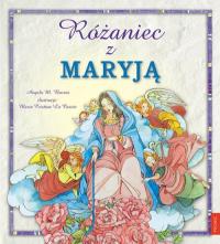 Różaniec z Maryją - Burrin Angela M. | mała okładka