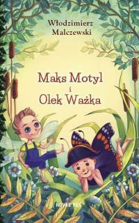 Maks Motyl i Olek Ważka - Włodzimierz Malczewski | mała okładka