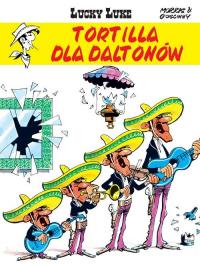 Lucky Luke Tortilla dla Daltonów - René Goscinny   mała okładka
