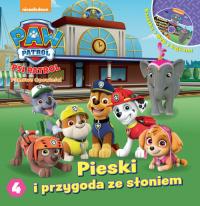 Psi Patrol. Filmowe Opowieści cz. 4. Pieski i przygoda ze słoniem. -  | mała okładka