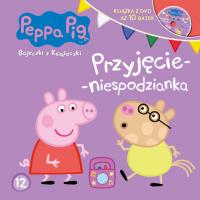 Świnka Peppa Bajeczki z książeczki. Nr 12 Przyjęcie-niespodzianka -  | mała okładka