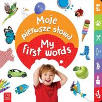 My first words - Moje pierwsze słowa -  | mała okładka
