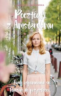 Pocztówki z Amsterdamu - Agnieszka Zakrzewska   mała okładka