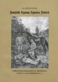 Pamiętniki Kapelana Legionów Polskich - Panaś Józef ks. | mała okładka
