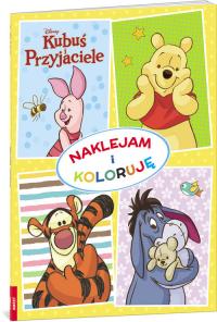 Kubuś i Przyjaciele Naklejam i koloruję NAK-10 -  | mała okładka