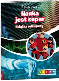 Disney Uczy Iniemamocni 2 Nauka jest super Książka odkrywcy UDJ-9 -  | mała okładka