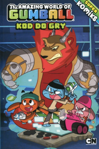 The Amazing World of Gumball Kod do gry Superkomiks nr2 -  | mała okładka