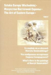 Sztuka Europy Wschodniej Tom 5 -  | mała okładka