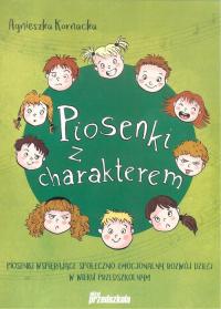Piosenki z charakterem CD - Agnieszka Kornacka | mała okładka