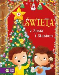 Święta z Zosią i Stasiem - Aniela Cholewińska-Szkolik   mała okładka