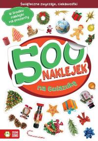 500 naklejek na Gwiazdkę - Barbara Supeł | mała okładka