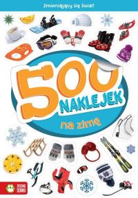 500 naklejek na zimę - Barbara Supeł | mała okładka