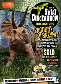 Świat Dinozaurów 3 Triceratops -  | mała okładka