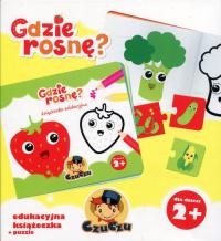 CzuCzu Gdzie rosnę? Edukacyjna książeczka + puzzle -  | mała okładka