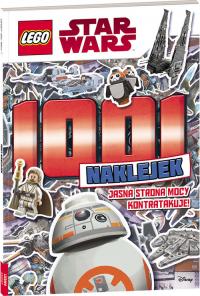 Lego Star Wars 1001 naklejek Jasna strona mocy kontratakuje! -  | mała okładka