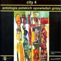 City 4 Antologia polskich opowiadań grozy -  | mała okładka