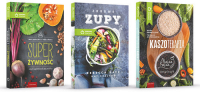 Przepisy na zdrowie Zdrowe zupy / Kaszoterapia / Super Żywność Pakiet -  | mała okładka