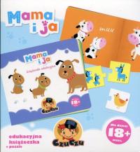 CzuCzu Mama i ja Edukacyjna książeczka + puzzle -  | mała okładka