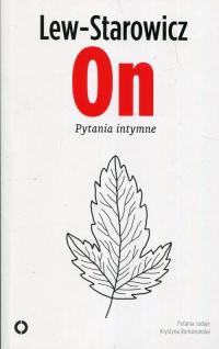 On Pytania intymne - Zbigniew Lew-Starowicz | mała okładka