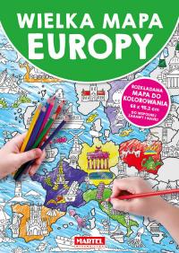 Wielka mapa Europy -    mała okładka