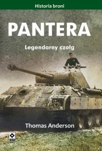 Pantera Legendarny czołg - Thomas Anderson | mała okładka
