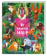 W świecie małp - Asia Gwis | mała okładka