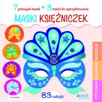 Maski księżniczek - Irene Mazza | mała okładka
