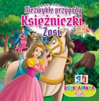 Rozkładanka 3D Niezwykłe przygoda księżniczki Zosi - zbiorowa Praca | mała okładka