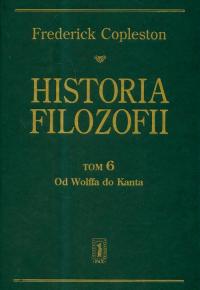 Historia filozofii Tom 6 Od Wolffa do Kanta - Frederick Copleston | mała okładka