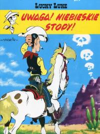 Lucky Luke Uwaga Niebieskie Stopy Tom 10 - Morris | mała okładka