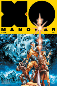 X-O Manowar 1 Żołnierz - Matt Kindt   mała okładka