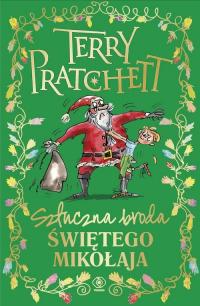 Sztuczna broda Świętego Mikołaja - Terry Pratchett | mała okładka