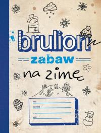 Brulion zabaw na zimę -  | mała okładka