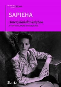 Amerykańska księżna Z Nowego Jorku do Siedlisk - Virgilia Sapieha | mała okładka