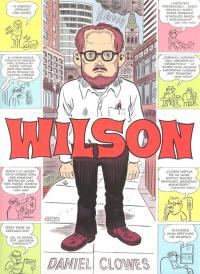 Wilson - Daniel Clowes | mała okładka