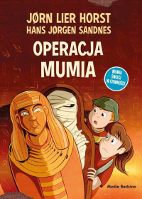 Operacja Mumia - Horst Jorn Lier | mała okładka