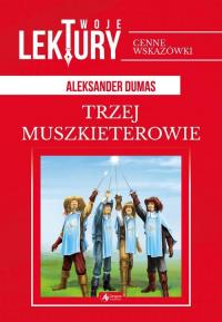 Trzej Muszkieterowie - Aleksander Dumas   mała okładka