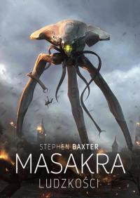 Masakra ludzkości - Stephen Baxter   mała okładka