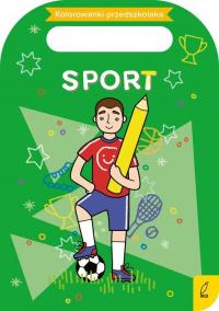 Kolorowanki przedszkolaka Sport -  | mała okładka